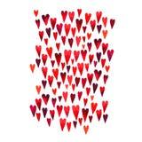 Fundo bonito com em dia do ` s do Valentim do St ilustração royalty free
