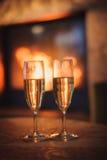 Fundo bonito com vinho cintilante Fotos de Stock Royalty Free