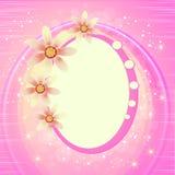 Fundo bonito da flor Imagem de Stock