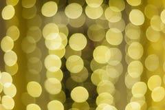 Fundo bonito do bokeh do ouro do Natal com espaço vazio da cópia fotografia de stock royalty free