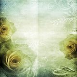 Fundo bonito do casamento do vintage Imagem de Stock Royalty Free