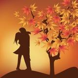 Fundo bonito do dia de Valentim com ornamento e coração. Imagem de Stock Royalty Free