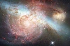 Fundo bonito do espaço Arte de Cosmoc Elementos desta imagem fornecidos pela NASA fotografia de stock