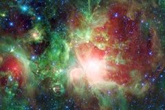 Fundo bonito do espaço Arte de Cosmoc Elementos desta imagem fornecidos pela NASA fotos de stock