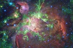 Fundo bonito do espa?o Arte de Cosmoc Elementos desta imagem fornecidos pela NASA foto de stock royalty free