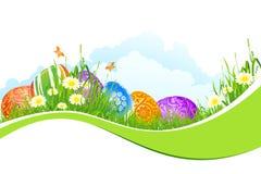 Fundo bonito do feriado de Easter Imagem de Stock