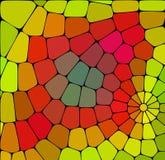 Fundo bonito do mosaico Projeto colorido Ornamento decorativo do caleidoscópio Ideal para bandeiras, papel de envolvimento, matér ilustração royalty free