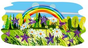 fundo bonito do verão Foto de Stock Royalty Free