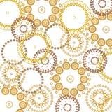 Fundo bonito dos círculos Fotografia de Stock Royalty Free