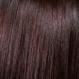 Fundo bonito e textura do cabelo preto do brilho Foto de Stock Royalty Free