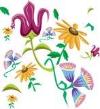 Fundo bonito FlowerAbstract Imagens de Stock Royalty Free