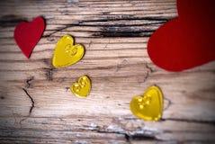 Fundo bonito II do coração Fotos de Stock