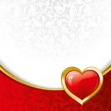 Fundo bonito no dia do Valentim Foto de Stock Royalty Free