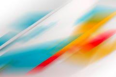 Fundo borrado com teste padrão colorido ilustração stock