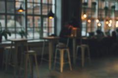 Fundo borrado do caf? fotografia de stock
