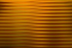 Fundo borrado sum?rio Linhas e curvas do ouro Teste padr?o listrado ilustração stock