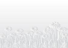 Fundo branco Imagem de Stock