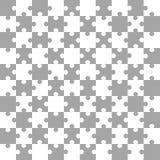 fundo Branco-cinzento do enigma, ilustração do vetor Fotografia de Stock