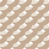 Fundo branco cinzento geométrico com círculos desiguais, linhas encaracolados Teste padrão sem emenda redondo abstrato ilustração stock