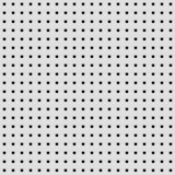 Fundo branco com teste padrão perfurado Imagem de Stock Royalty Free