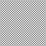 Fundo branco com teste padrão perfurado ilustração stock