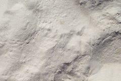 Fundo branco da areia Textura coral quebradiço da praia da areia Fundo tropical da foto da praia Fotografia de Stock Royalty Free