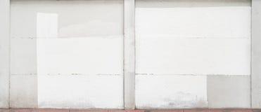Fundo branco da cor do cimento natural ou da textura velha de pedra da parede imagens de stock royalty free