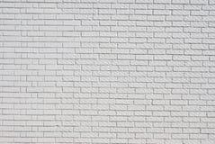 Fundo branco da parede de tijolo Imagens de Stock