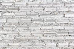 Fundo branco da parede de tijolo do grunge Imagem de Stock Royalty Free