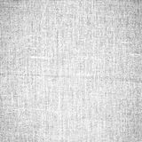 Fundo branco da textura da lona Foto de Stock Royalty Free