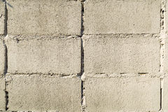 Fundo branco da textura da parede de tijolo do vintage velho foto de stock royalty free