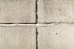 Fundo branco da textura da parede de tijolo do vintage velho fotografia de stock royalty free