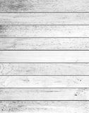 Fundo branco da textura da prancha de madeira Fotos de Stock