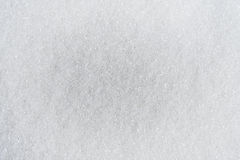 Fundo branco do açúcar Fotos de Stock Royalty Free