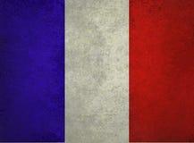 Fundo branco e azul vermelho abstrato, bandeira de França, bandeira francesa ilustração do vetor