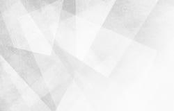 Fundo branco e cinzento com formas e ângulos abstratos do triângulo fotos de stock royalty free