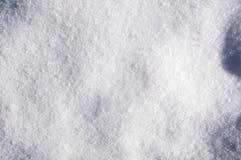 Fundo branco fresco da neve fotografia de stock royalty free