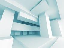Fundo branco moderno abstrato da arquitetura Foto de Stock