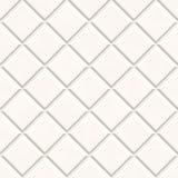 Fundo branco sem emenda da textura das telhas Imagem de Stock Royalty Free