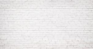 Fundo branco velho da parede de tijolo, textura do vintage do brickw claro