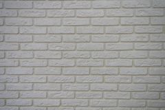 Fundo branco velho da textura do tijolo da parede foto de stock royalty free