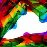 Fundo brilhante abstrato multicolorido Elementos para o projeto ilustração do vetor