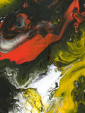 Fundo brilhante bonito abstrato da cor Foto de Stock Royalty Free