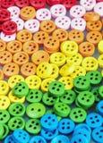 Fundo brilhante colorido misturado dos botões Imagem de Stock Royalty Free