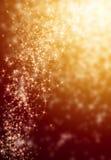 Fundo brilhante da estrela dourada do borrão Fotos de Stock Royalty Free