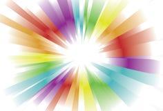 Fundo brilhante da luz do espectro ilustração stock