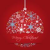 Fundo brilhante das bolas do Natal Fotografia de Stock