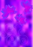 Fundo brilhante das flores Foto de Stock