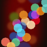 Fundo brilhante Defocused Foto de Stock Royalty Free