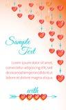Fundo brilhante do amor Fotos de Stock Royalty Free